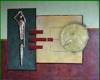 Friedrich-UNGER-Abstraktes-Dekoratives-Gegenwartskunst-Gegenwartskunst