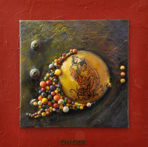 Friedrich UNGER, Träume, Dekoratives, Menschen, Gegenwartskunst