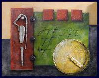 Friedrich-UNGER-Abstraktes-Moderne-Abstrakte-Kunst