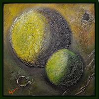 Friedrich-UNGER-Fantasie-Fantasie-Moderne-Abstrakte-Kunst