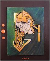 Friedrich-UNGER-Menschen-Menschen-Frau-Moderne-Abstrakte-Kunst