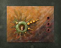 Friedrich-UNGER-Fantasie-Mythologie-Moderne-Abstrakte-Kunst