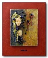 Friedrich-UNGER-Abstraktes-Abstraktes-Moderne-Abstrakte-Kunst