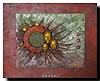 Friedrich UNGER, Untergang, Abstraktes, Fantasie, Abstrakte Kunst