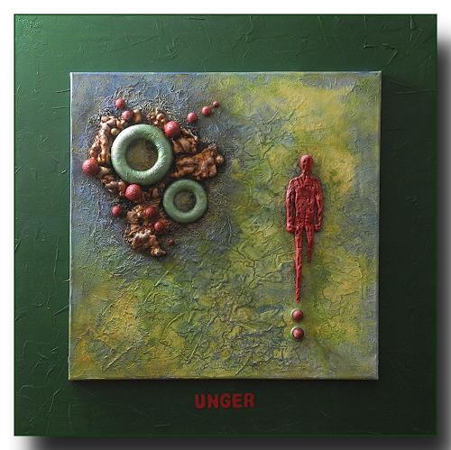 Friedrich UNGER, Wut, Abstraktes, Gefühle, Abstrakte Kunst