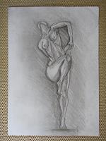 Nemesis-Akt-Erotik-Akt-Frau-Neuzeit-Realismus