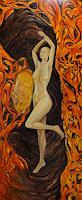 Nemesis-Akt-Erotik-Akt-Frau-Fantasie-Moderne-Avantgarde