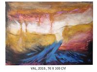 Ana-Krleza-Landschaft-See-Meer-Natur-Wasser-Gegenwartskunst--Gegenwartskunst-