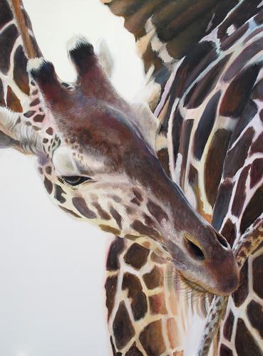 Vera Käufeler, Miss Massai, Tiere: Land, Fotorealismus, Expressionismus