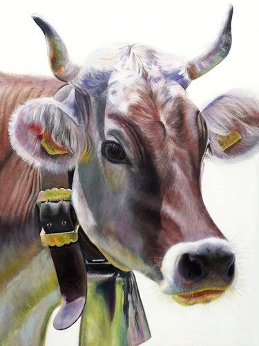 Vera Käufeler, Mina, Tiere: Land, Abstrakte Kunst