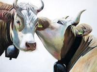 Vera-Kaeufeler-Tiere-Land-Moderne-Abstrakte-Kunst