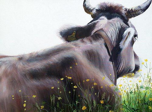 Vera Käufeler, Bellfleur, Natur, Tiere: Land, Abstrakte Kunst, Expressionismus