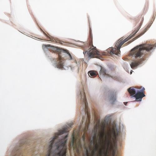 Vera Käufeler, Cervo, Tiere: Land, Natur, Expressionismus