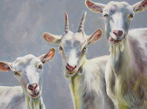 Vera Käufeler, Tic, Tac & Toc, Tiere: Land, Natur, Abstrakte Kunst, Expressionismus