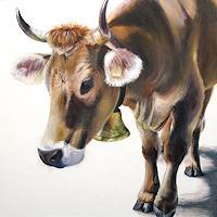 Vera-Kaeufeler-Tiere-Land-Natur-Moderne-Abstrakte-Kunst
