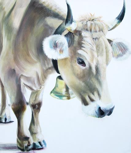 Vera Käufeler, Loretta, Natur, Tiere: Land, Fotorealismus