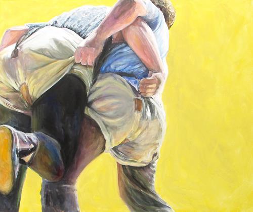 Vera Käufeler, Schwingen - zwei Böse, Menschen, Sport