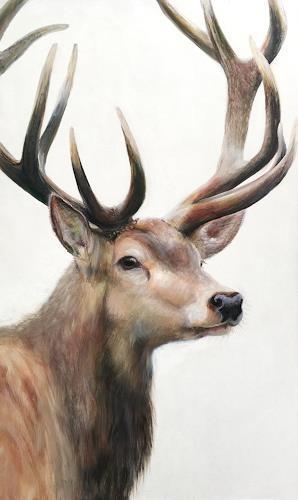 Vera Käufeler, IL Capo, Tiere: Land, Jagd, Abstrakte Kunst, Expressionismus