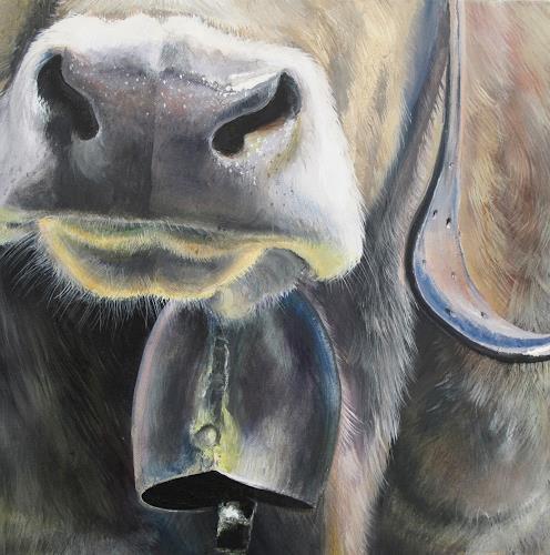 Vera Käufeler, Senta's Bell, Tiere: Land, Natur, Abstrakte Kunst