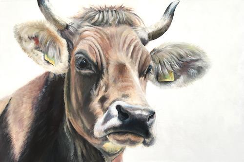 Vera Käufeler, Bella Fiorella, Tiere: Land, Natur, Abstrakte Kunst