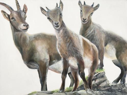 Vera Käufeler, Kecke Kids, Natur, Tiere: Land, Naturalismus