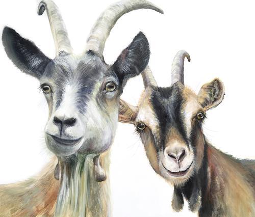Vera Käufeler, Flipp & Browny, Tiere: Land, Natur, Fotorealismus