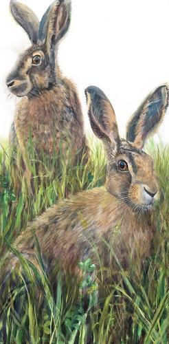 Vera Käufeler, Sprinter & Hoppel 2, Natur, Tiere, Fotorealismus