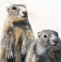 Vera-Kaeufeler-Tiere-Land-Natur-Erde-Moderne-Fotorealismus