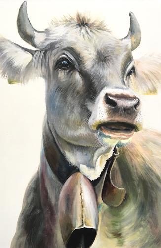 Vera Käufeler, Barbla, Tiere: Land, Natur, Fotorealismus, Expressionismus