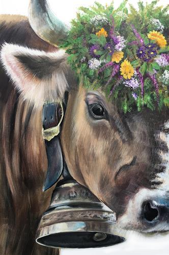 Vera Käufeler, Fleur, Natur, Tiere: Land, Fotorealismus