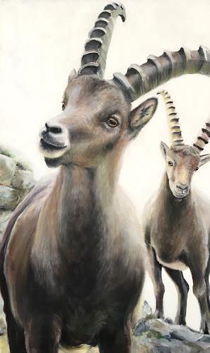 Vera Käufeler, High Society, Natur, Tiere: Land, Fotorealismus