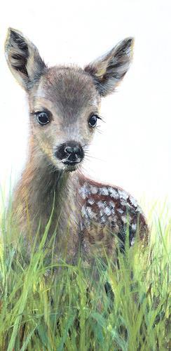Vera Käufeler, Bamby, Tiere: Land, Natur, Fotorealismus, Expressionismus