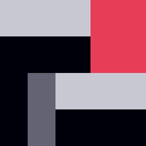 Frank Mauk, Passion in Red and Grey, Abstraktes, Dekoratives, Konstruktivismus, Abstrakter Expressionismus