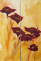 Michael-Doerr-Pflanzen-Blumen-Fantasie-Moderne-Naturalismus