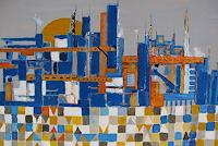 Michael-Doerr-Fantasie-Diverse-Bauten-Moderne-Abstrakte-Kunst