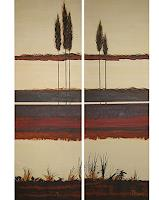 Michael-Doerr-Landschaft-Ebene-Natur-Erde-Moderne-Naturalismus