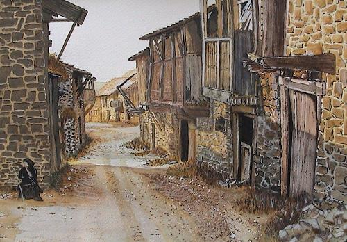 Michael Doerr, Milvica, Diverse Landschaften, Diverse Bauten, Konkrete Kunst, Expressionismus