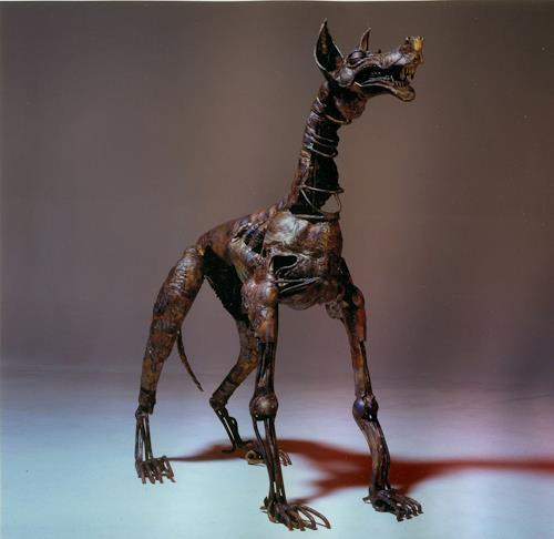 Jan Kocnar  Kral Smetana, Dog Toggenburg, Skurril, Fantasie, Surrealismus, Abstrakter Expressionismus