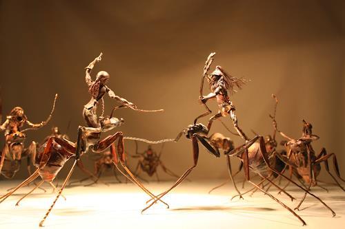 Jan Kocnar  Kral Smetana, Polo Ameisenreiter, Bewegung, Dekoratives, Surrealismus, Abstrakter Expressionismus