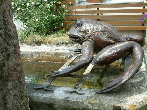 Jan Kocnar  Kral Smetana, Frösch, Natur: Wasser, Tiere: Wasser, Naturalismus