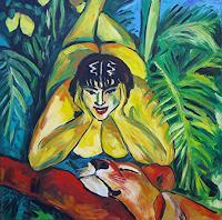 TTobe-Akt-Erotik-Akt-Frau-Poesie-Moderne-Expressionismus