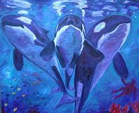 TTobe-Tiere-Wasser-Natur-Wasser-Moderne-Expressionismus