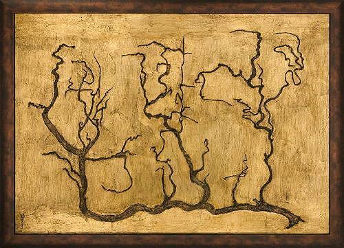Heike Bender, Corylus avellana 2, Natur: Diverse, Pflanzen: Bäume, Gegenwartskunst