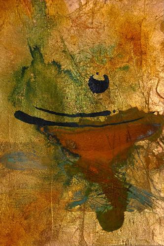 Heike Bender, O.T. 18, Abstraktes, Dekoratives, Moderne
