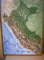 O. Gebhardt, Das Land Peru.Einzigartiges Reliefbild
