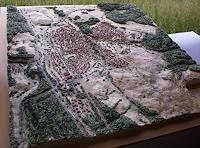 O. Gebhardt, Reliefbild einer Gemeinde Maßstab 1:8500