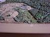 O. Gebhardt, Nahaufnahme von einem geografischen Reliefbild-Unikat