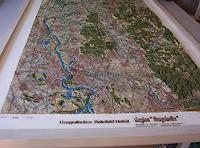 O. Gebhardt, Vogelperspektive meines Geografischen Reliefbildes