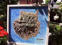 O. Gebhardt, Ein Geo-Reliefbild