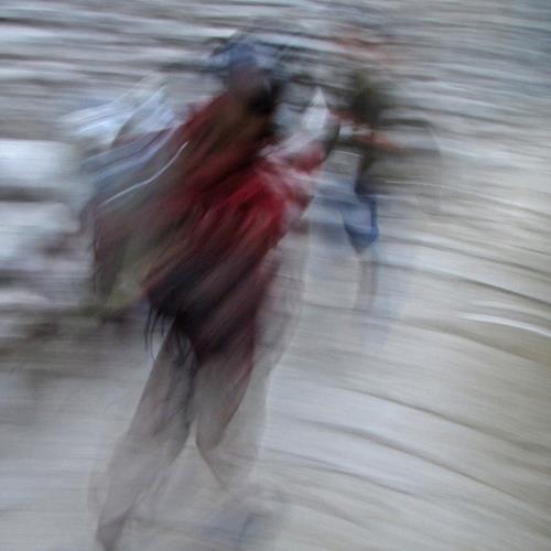 Beate Kratt, Passing, Abstraktes, Bewegung, Gegenwartskunst